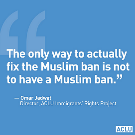 ACLU's message