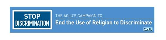 ACLU banner ad