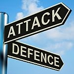 attack defense sign