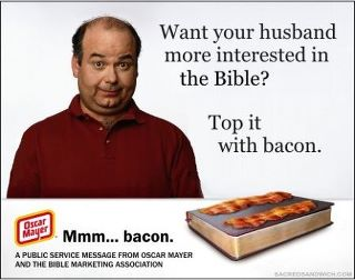Bacon advertisement