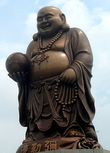 Statue of the Budai