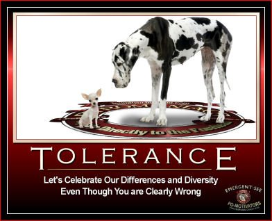 Image promoting diversity and tolerance
