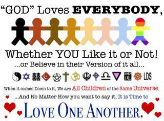 God loves everyone