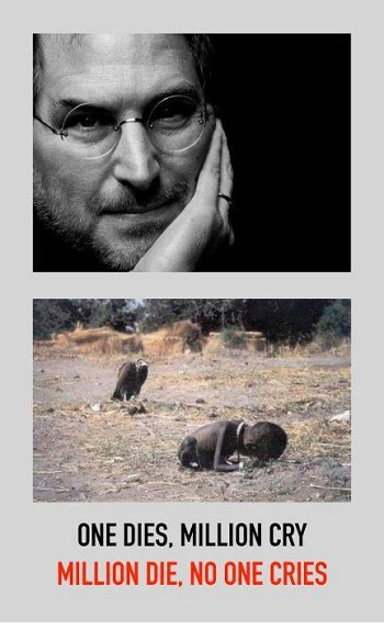 Death of Steve Jobs, and millions