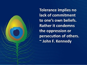 Quote on tolerance by JFK
