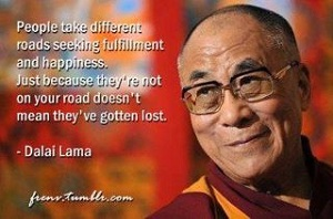 The Dalai Lama on alternate spiritualities