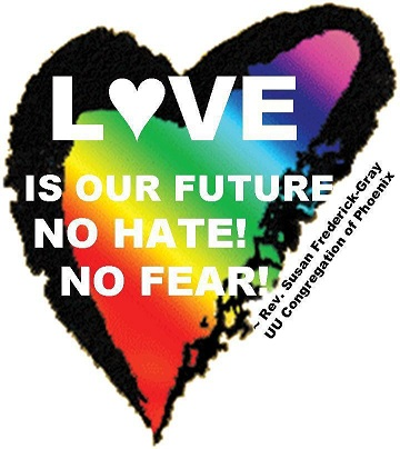 Love-no hate, no fear
