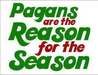 Pagans reason for Xmas season