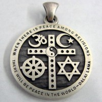 Links to website featuring religious or spiritual jewelry photos etc bullet religious tolerance pendant aloadofball Images