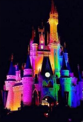 disney rainbow lights