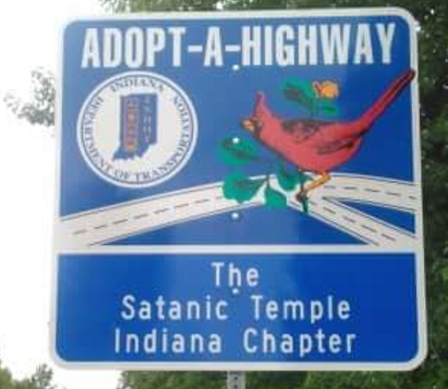 adopt-a-highway sign