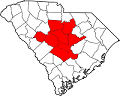 Map of SC midlands