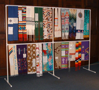 shower of stoles display