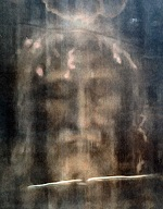 digitally processed image of the face on the shroud