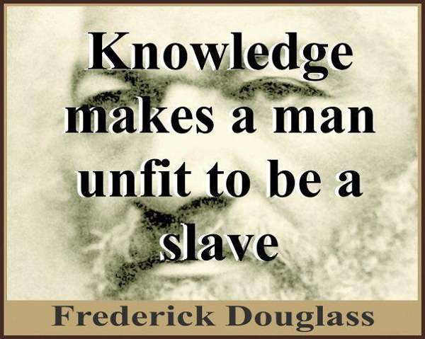Quote by Frederick Douglass
