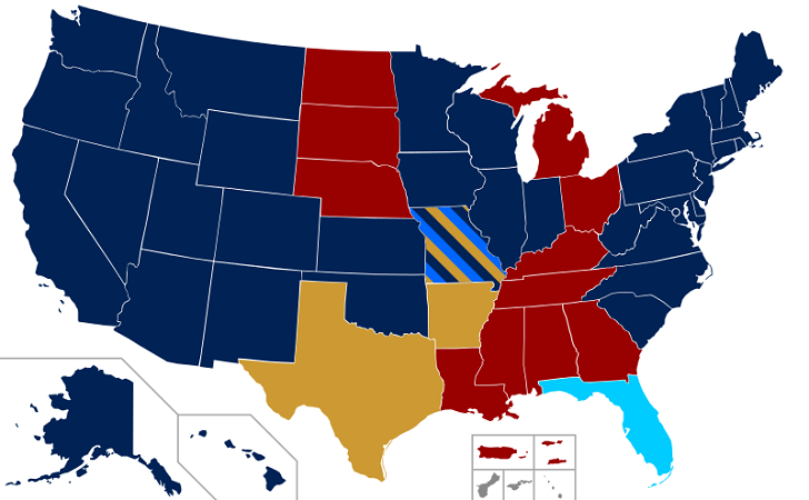 current status of same sex marriages and civil unions u s map showing marriage equality in 2014 nov