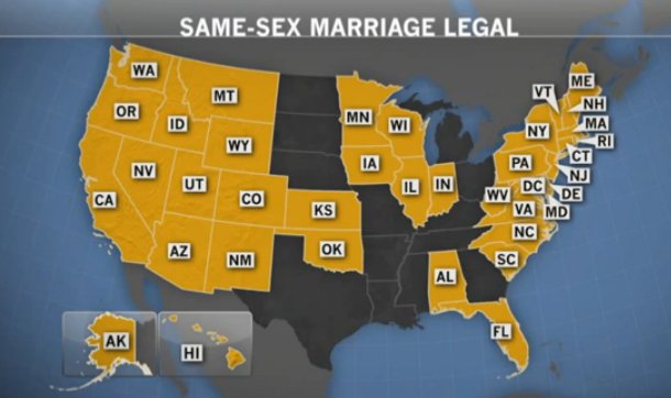 transexuality transgenderism and gender identity 2015 feb 09 u s map of 37 states and dc which allowed same sex couples to marry at that time