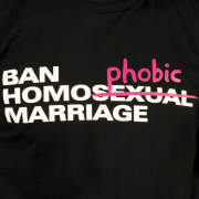 Ban homophobic marriage