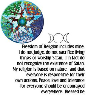 Where can I find information about the religion Wicca?