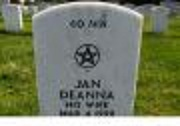 Picture of a Wiccan grave marker