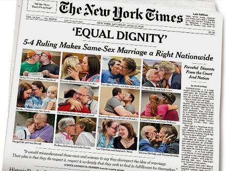 Front Page, New York Times