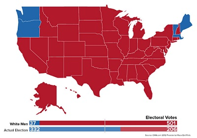 2012 vote according to 1850 laws