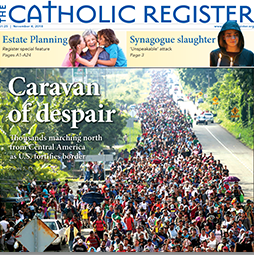 cover of Catholic Register