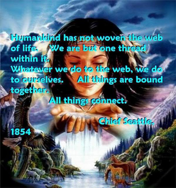 Saying by Chief Seattle
