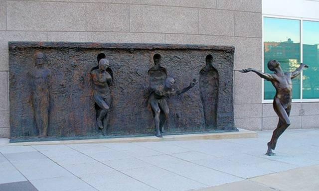 """Freedom"" sculpture"