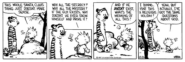 Calvin & Hobbes comic strip