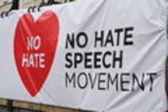 No hate speech flag