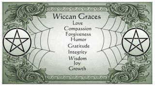 List of Wiccan graces